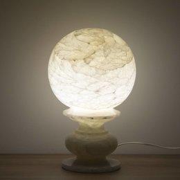 Indomarmer Bol Lamp Onyx