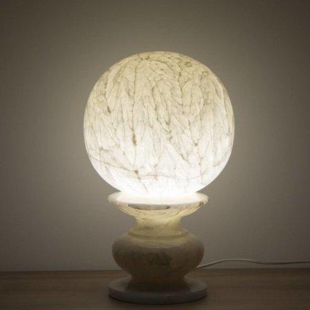 Kugel Lampe Onyx