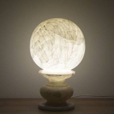 Indomarmer Sphere Lamp Onyx
