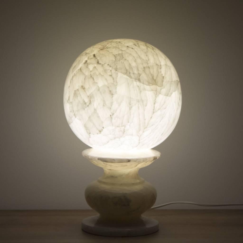 bol lamp onyx