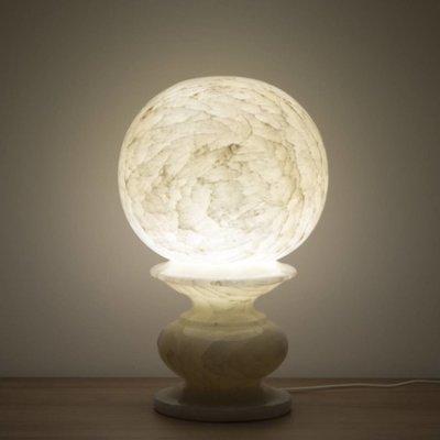 Indomarmer Sphere Lamp Onyx