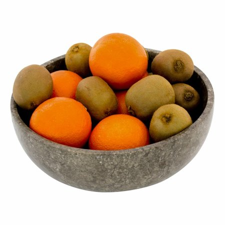 Gray Marble Fruit bowl Ø 25 cm