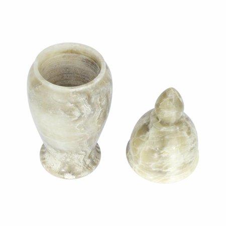 Indomarmer Pot Met Deksel H28cm Ø8cm