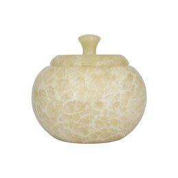 Indomarmer Pot Met Deksel H14cm Ø12cm