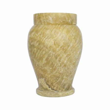 Indomarmer Pot Met Deksel H17cm Ø12cm