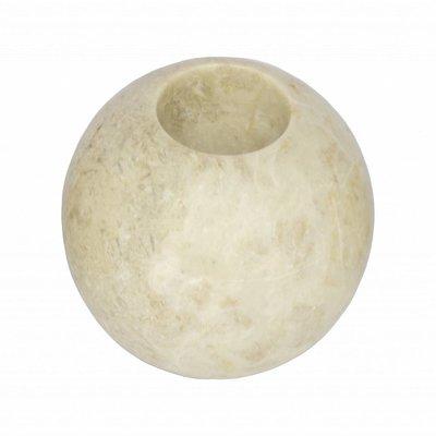 Marmor Teelichtkerzenhalter H10 Ø10