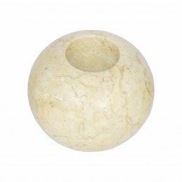 Marmor Teelichtkerzenhalter H8 Ø10