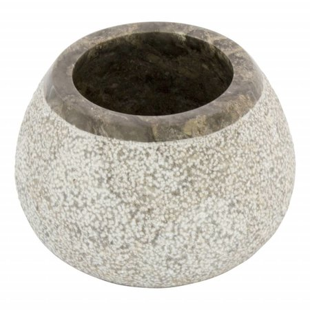 Indomarmer 5-Piece Gray Marble Bath Set Arya
