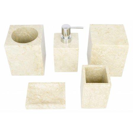 Marmor Zahnbürstenbecher Savoe