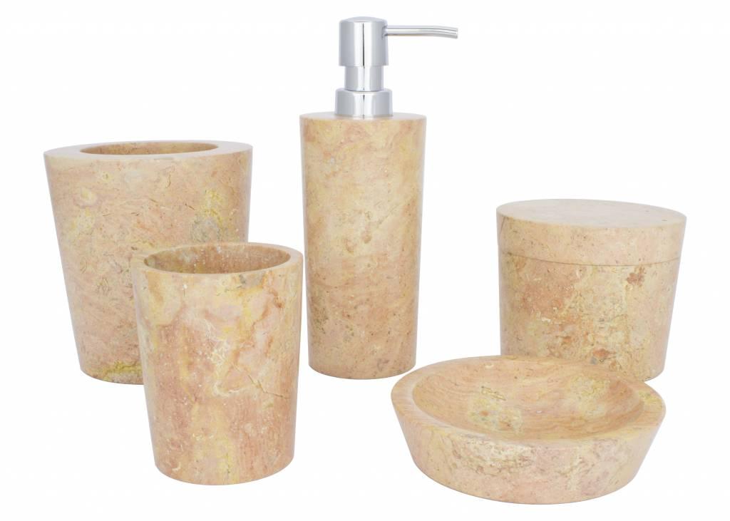 Indomarmer Marble Toilet brush holder Java