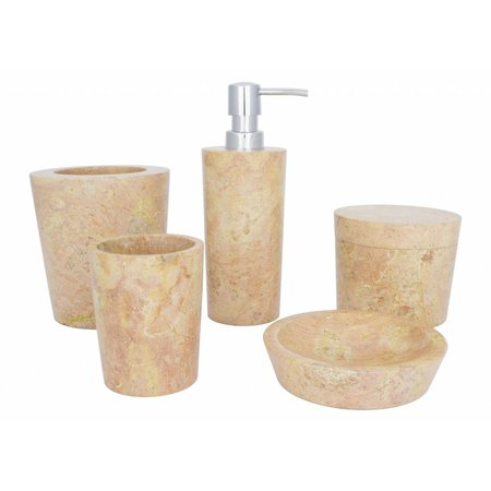 Marble Toothbrush Cup Java