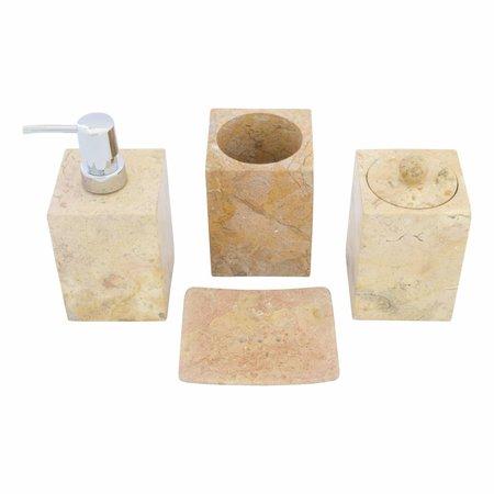 Indomarmer Zeepdispenser Java Squa Marmer
