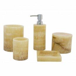 5-Piece Onyx bath set Elang