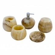 Indomarmer 5-Teilige Onyx Badeset Senja