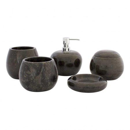 Indomarmer 5-piece Marble Bath Set Satria