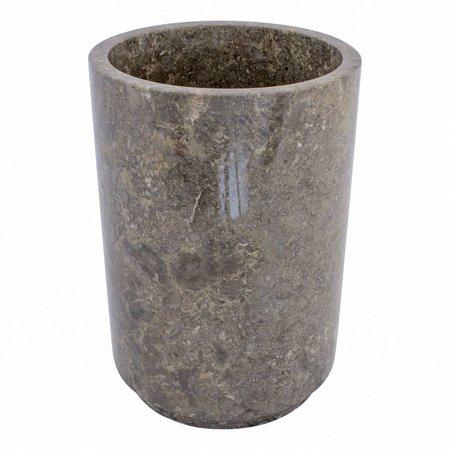 Indomarmer Marmor Papierkorb Dewa