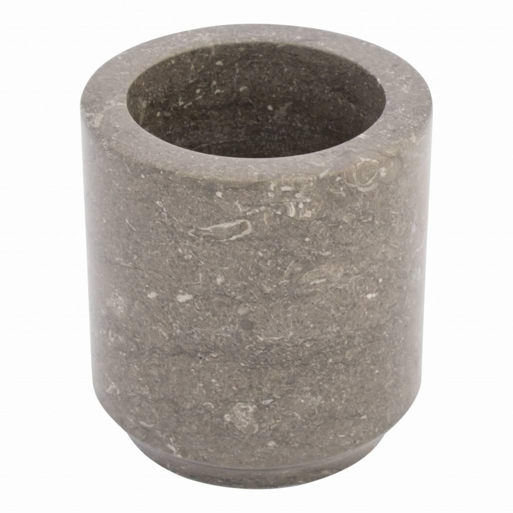 Indomarmer Marmor Toilettenbürstenhalter Dewa