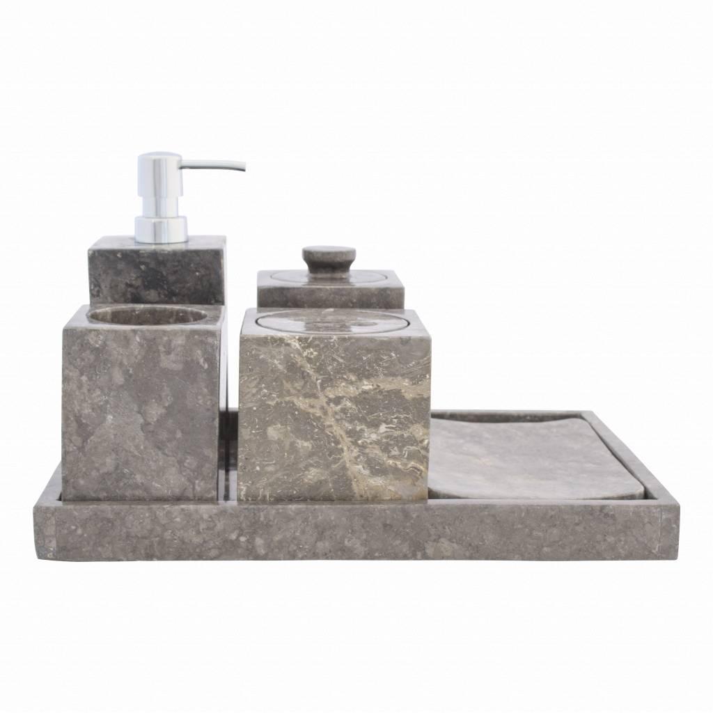 Indomarmer 6-Teilige Marmor Badeset Losari