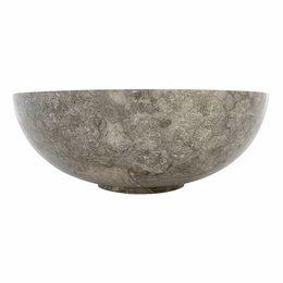Indomarmer Grauem Marmor Waschbecken Mangkok Ø 40 x H 15 cm