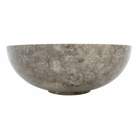 Gray Marble Wash bowl Mangkok Ø 40 x H 15 cm