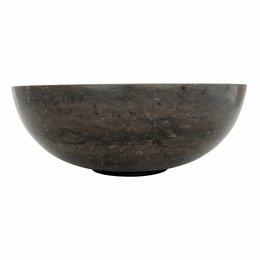 Schwarzer Marmor Waschbecken Mangkok Ø 40 x H 15 cm