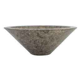 Indomarmer Gray Marble Wash bowl Membrane Ø 40 x H 15 cm