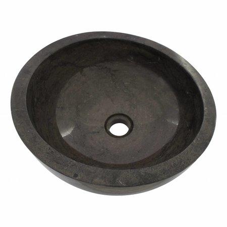 Black Marble Wash bowl Miring Ø 40 x H 19 cm