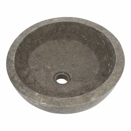Indomarmer Gray Marble Wash bowl Miring Ø 40 x H 19 cm