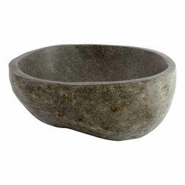 Polished River Stone Wash Bowl 40x40x15cm