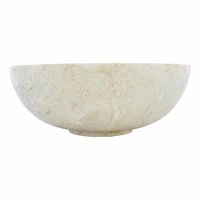 Cream Marble Wash bowl Mangkok Ø 40 x H 15 cm
