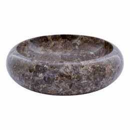 Grauem Marmor Waschbecken Donat Ø 40 x H 12 cm
