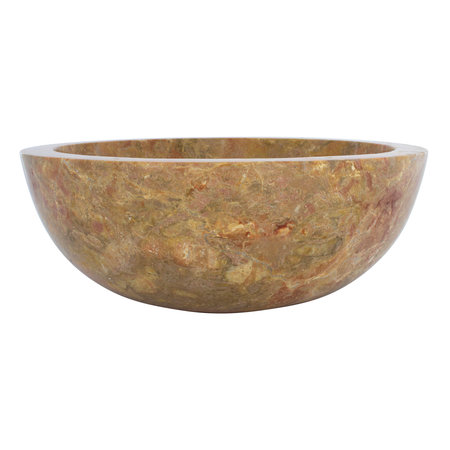 Indomarmer Red Marble Wash bowl Ø 40 x H 15 cm