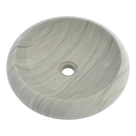 Indomarmer Groene Zandsteen Waskom Donut Ø 40 x H 12 cm