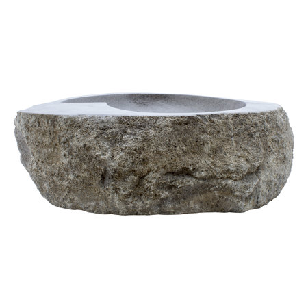 Indomarmer River Stone Washbasin Spiral 56x41x15cm