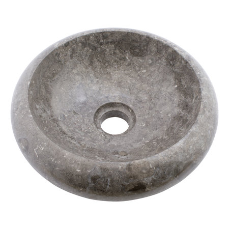 Indomarmer Gray Marble Wash bowl Donut Ø 30 x H 10 cm