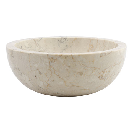 Indomarmer Cream Marble Wash bowl Ø 30 x H 12 cm