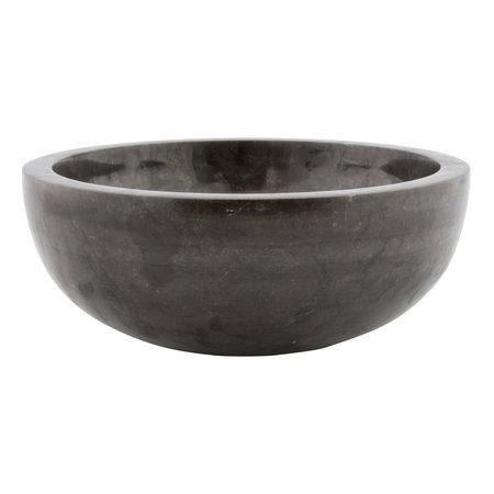 Indomarmer Black Marble Wash bowl Ø 30 x H 12 cm