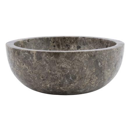 Indomarmer Grauem Marmor Waschbecken Ø 30 x H 12 cm