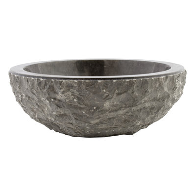 Indomarmer Black Marble Wash bowl Full-Marmo Ø 40 x H 15 cm