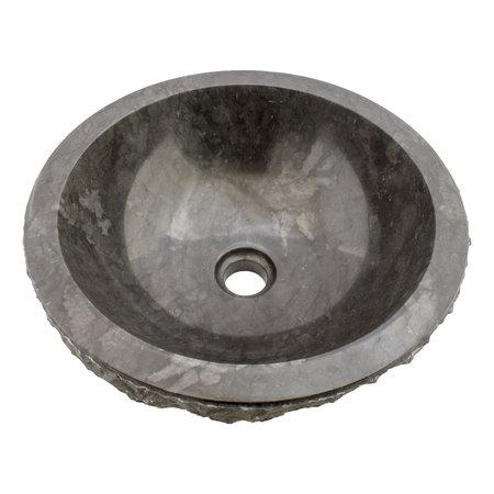 Indomarmer Black Marble Wash bowl Full-Marmo Ø 40 x H 15 cm