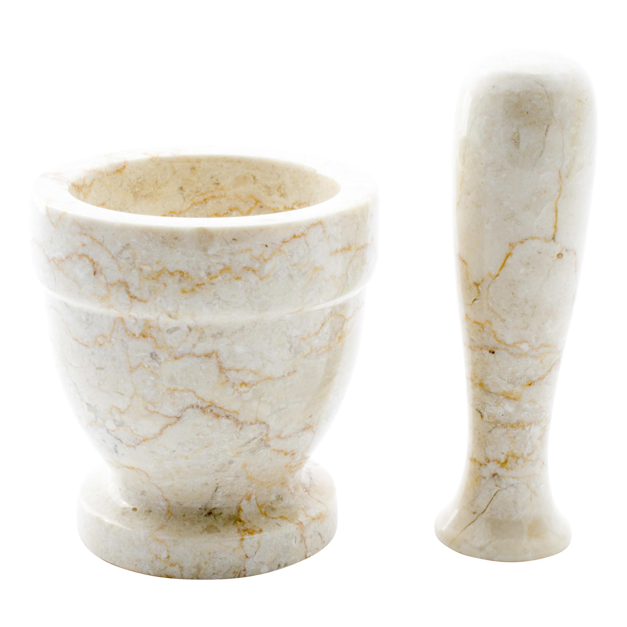 Indomarmer Cream Marble Mortar