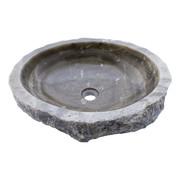 Indomarmer Washbasin of Black Onyx 50x42x15cm