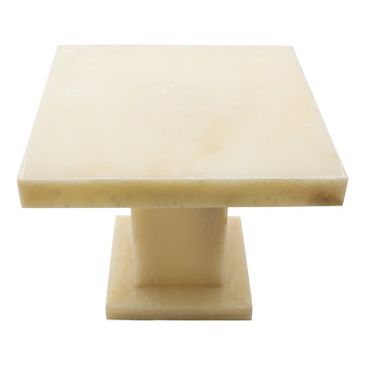 Indomarmer Onyx Side table Square 50x50x40 cm