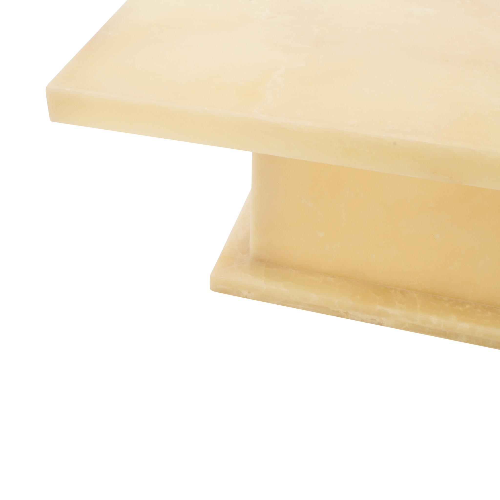 Indomarmer Onyx Salontafel Rechthoek 110x70x45 cm