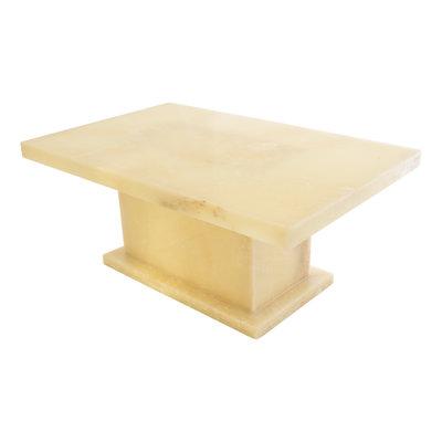Indomarmer Onyx Coffee table Rectangle 110x70x45 cm