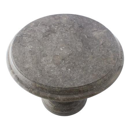 Indomarmer Side table Round Ø50xH40 cm Grey Marble