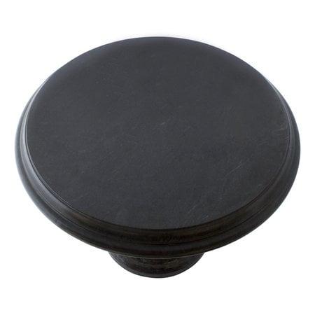 Indomarmer Side table Round Ø50xH40 cm Black Marble