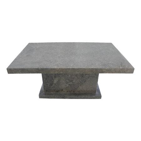 Indomarmer Coffee table Rectangle 110x70x45 cm Grey Marble