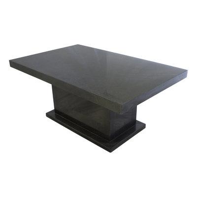 Indomarmer Salontafel Rechthoek 110x70x45 cm Zwart Marmer