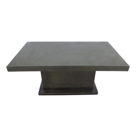 Indomarmer Coffee table Rectangle 110x70x45 cm Black Marble